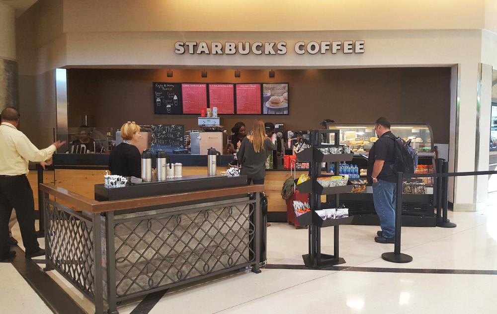 Starbucks Atrium
