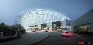 ATLNext Domestic Terminal Entrance